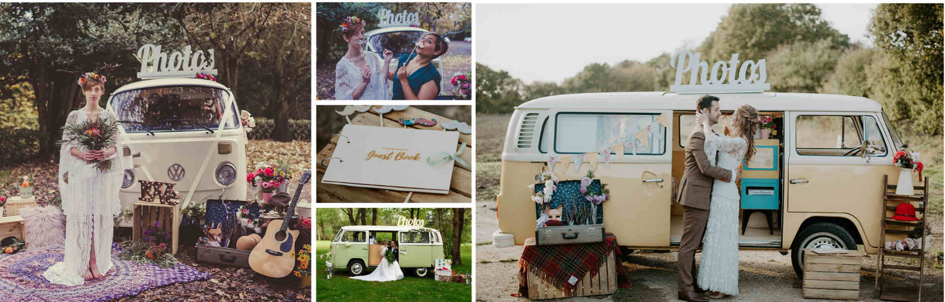 Campervan photobooth Surrey London Kent