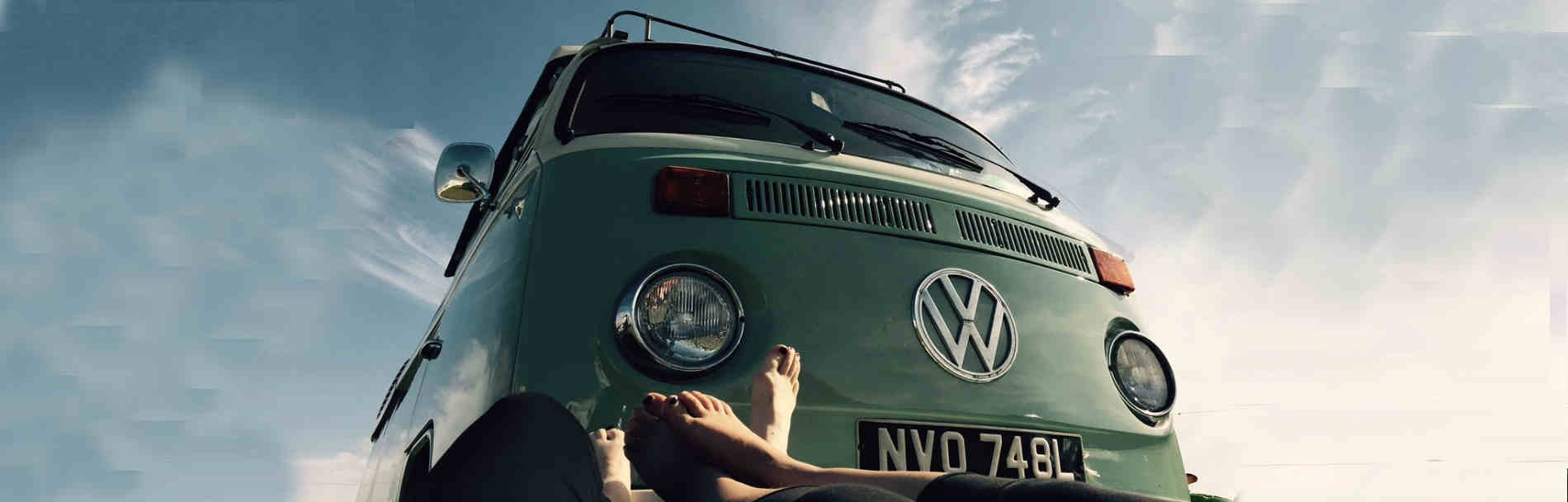 Self-drive classic campervan rental holidays London