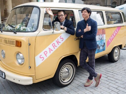 Branded campervan hire for music promotion – Sparks album release