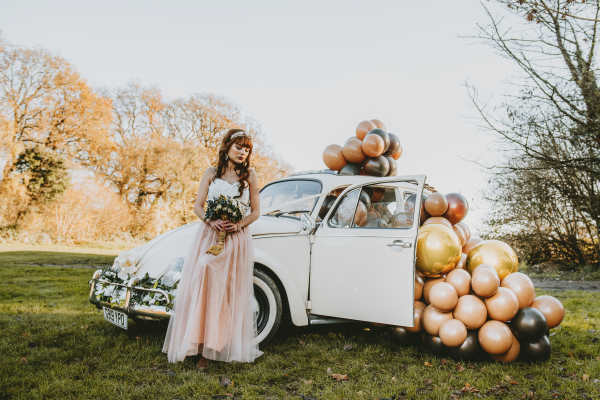 vw beetle wedding car hire Surrey