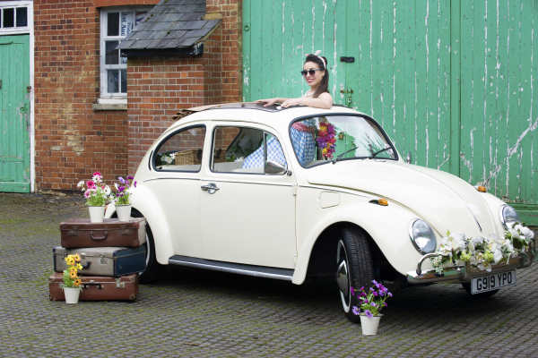 vw beetle wedding car hire London