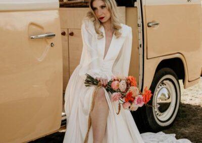 70s wedding style vw camper