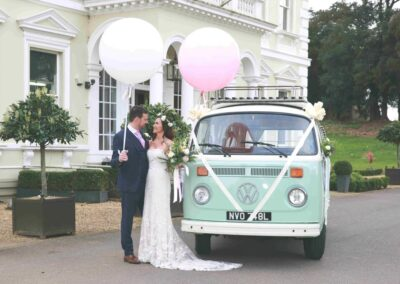 Surrey campervan wedding car hire