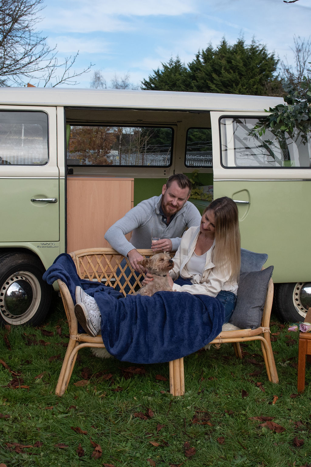 Family photoshoot experience VW Camper