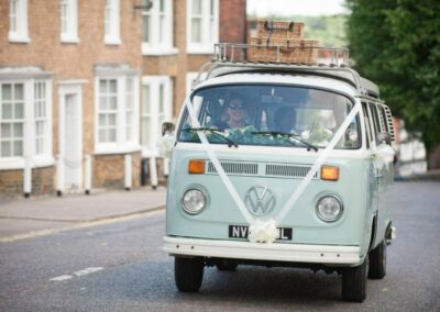 VW Camper wedding car hire Surrey