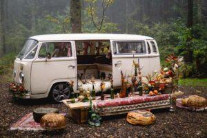 autumn campervan wedding car hire kent