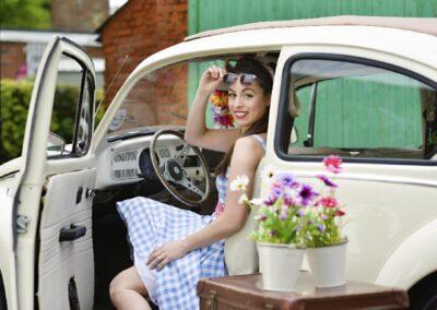 beetle bug wedding car hire