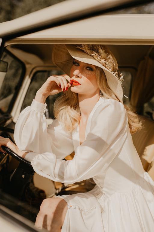boho bride and campervan wedding car hire buttercupbus
