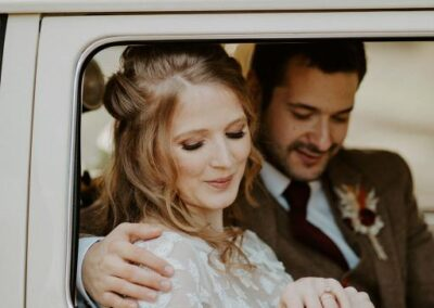 boho wedding car surrey