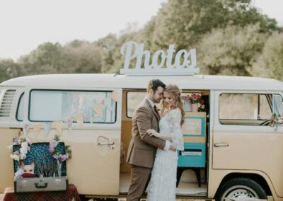 buttercup bus vw camper photobooth