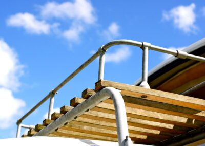 campervan hire with roof rack