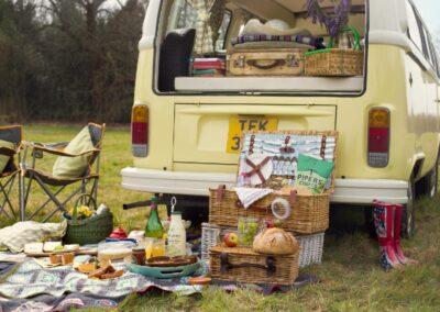 campervan picnic hire surrey