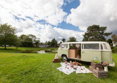 campervan picnic surrey buttercupbus