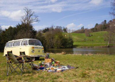 campervan rental for a picnic in surrey