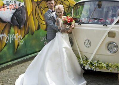 campervan wedding car croydon