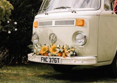 campervan wedding car hire