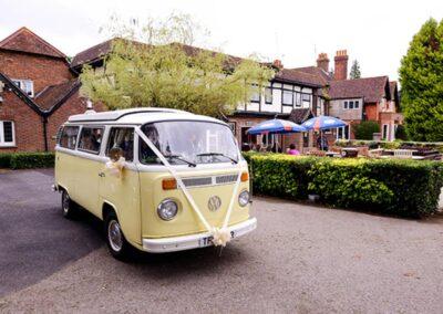 campervan wedding car hire croydon
