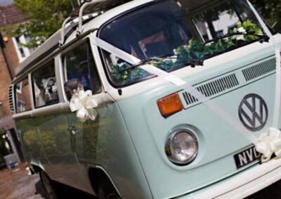 campervan wedding car hire london