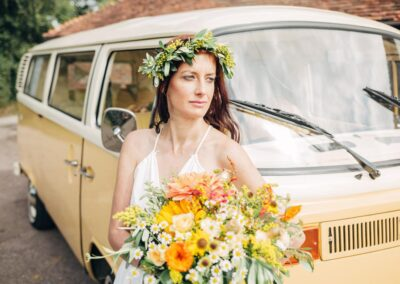 campervan wedding car hire surrey