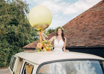 campervan wedding car rental surrey