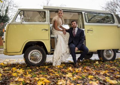 campervan wedding transport hire