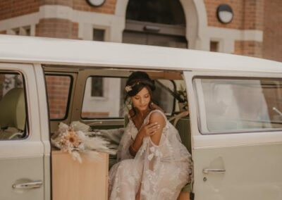 campervan wedding transport in kent