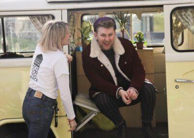 classic campervan rental elopement uk