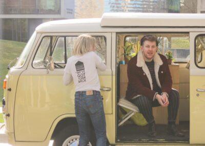 classic campervan rental london
