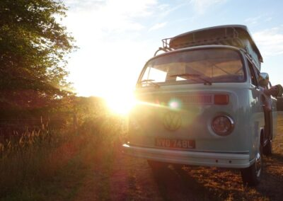 classic campervan rental surrey
