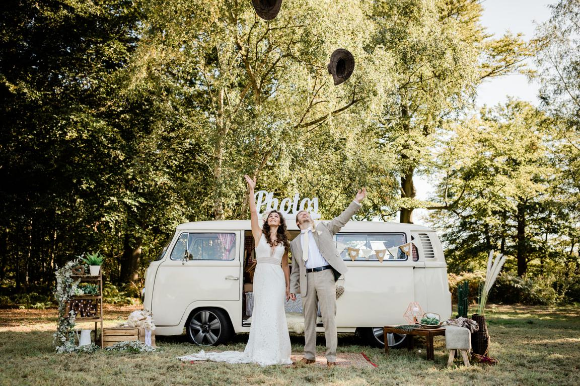 cream vw camper hire events in kent