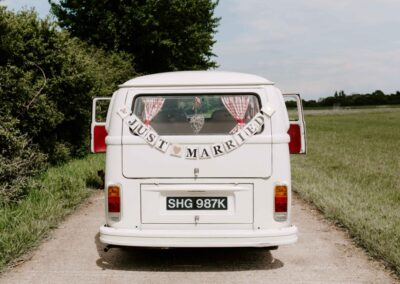 croydon campervan wedding car