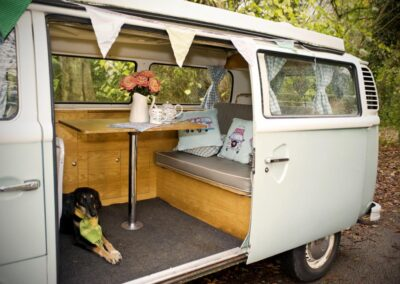 dog friendly campervan hire london