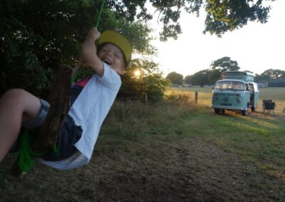 family campervan hire experience surrey