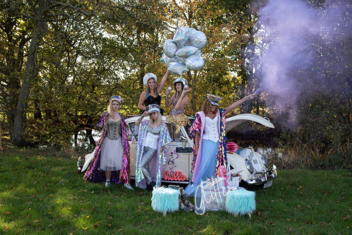 Glitter popup bar hire London Surrey Sussex Kent