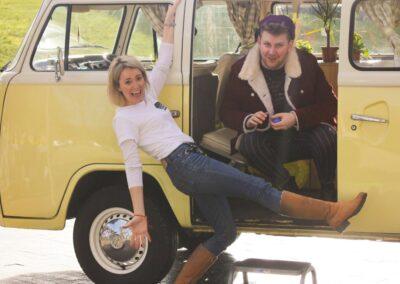 hippy campervan rental london