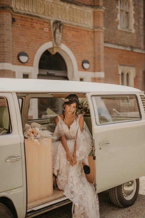 VW campervan wedding London Surrey Kent Sussex