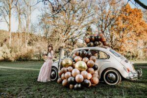 vw beetle wedding car Croydon