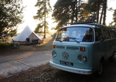 old style campervan 70s hire london
