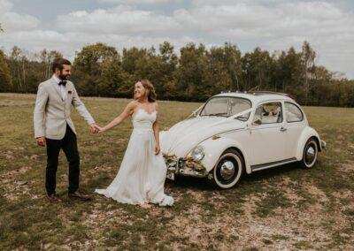 quirky wedding car hire london