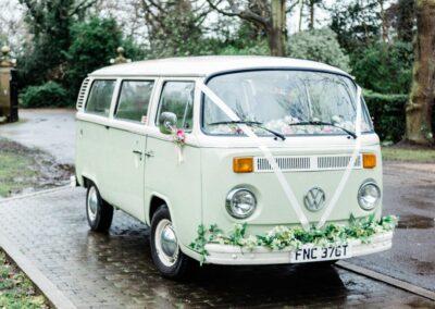 surrey wedding car hire
