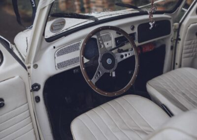 vw beetle wedding car rental