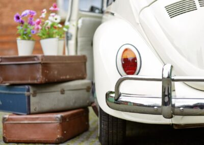 vw beetle wedding car surrey