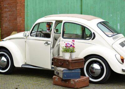 vw beetle wedding car sussex