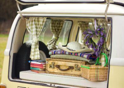 vw camper boot for storage rental