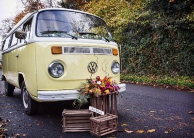 vw camper for hire 70s style