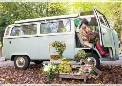 vw camper hire for media events and tv