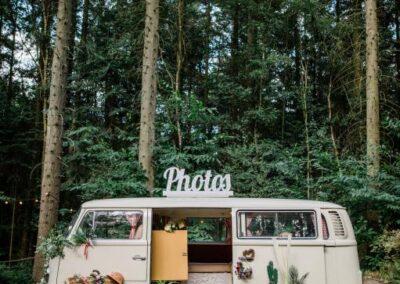 vw camper photobooth kent