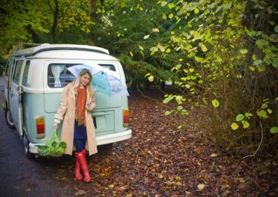 vw camper rental in South London