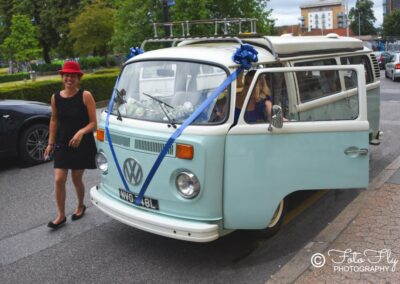 vw camper wedding car croydon
