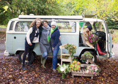 vw camper weddings and events surrey